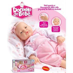 Boneca Docinho De Bebe Divertoys 616