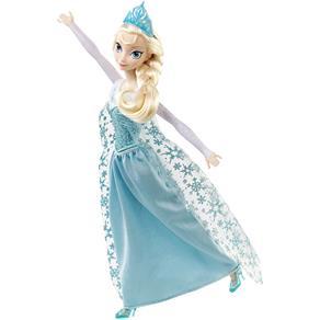 Boneca Elsa Musical Frozen Disney - Mattel