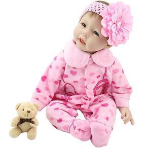 Boneca Laura Baby Friend Love - Bebe Reborn