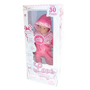 Boneca Love Baby - Miketa