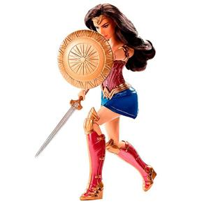 Boneca Mattel DC Mulher Maravilha - Escudo