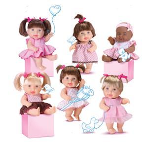 Boneca Miudinhas Special Diversas - Diver Toys