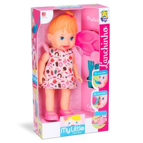 Boneca My Little Collection Lanchinho Divertoys Ref 646