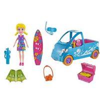 Boneca - Polly Pocket com Veículo - Van de Surf - Mattel