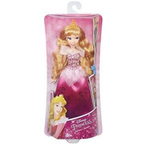 Boneca Princesas Clássica Aurora Vestido Brilhante - B5290 - Hasbro