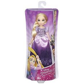 Boneca Princesas Clássica Rapunzel Vestido Brilhante - B5286 - Hasbro