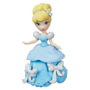 Boneca Princesas Disney - Mini Princesa Cinderela B5324 - Hasbro