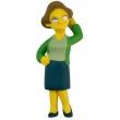 Boneca Simpsons Multikids Edna Krabappel Miniatura Colecionável