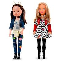 Bonecas Larissa Manoela e Carinha de Anjo Juju 54 e 47cm Novabrink