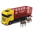 CAMINHAO COWBOY TRUCK COM ANIMAIS - ORANGE - 415