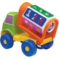 Caminhão Sorriso Didático Grande - Merco Toys