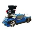 Carrinho Controle Remoto - Candide - Battle Machine Silverado Dooley Azul