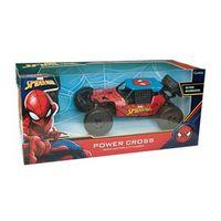 Carrinho de Rc - Power Cross - Homem - Aranha - Candide
