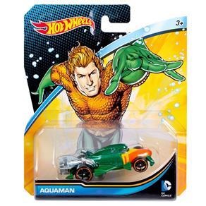 Carrinho Hot Wheels - Personagens DC Comics - Aquaman - Mattel