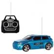Carro 3D Com Controle Remoto 27 Mhz Art Brink Azul