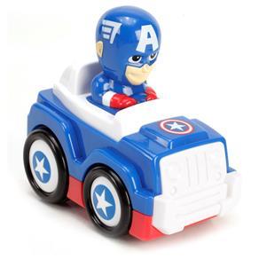 Carro Candide Top Racers Marvel - Capitão América
