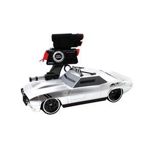 Carro Controle Remoto Battle Machines Camaro Prata - Candide