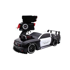 Carro Controle Remoto Battle Machines Mustang Police - Candide