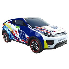 Carro de Controle Remoto CKS Speed Car com 7 Funções - Azul
