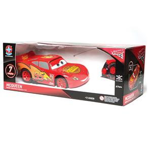 Carro de Controle Remoto Estrela Disney Carros 3 Mcqueen com 7 Funções - Vermelho