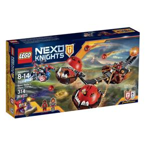 Carro do Caos do Mestre Besta - Nexo Knights