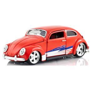 Carro Miniatura Volkswagen Beetle All Stars Vermelho 31023