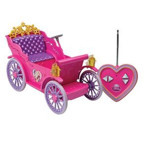 Carruagem Mágica das Princesas Disney com Controle Remoto 5450 - Candide