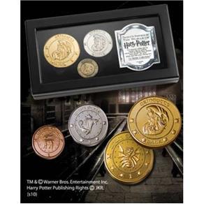 Coleção de Moedas do Banco Gringotes Noble Collection
