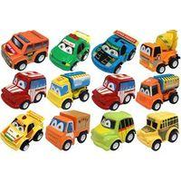 Conjunto Com 12 Carrinhos Fricção Zp00136 Zoop Toys