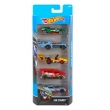 Conjunto de Carros Mattel Hot Wheels Fan Stands - 5 Unidades