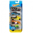 Conjunto de Carros Mattel Hot Wheels HW City Works - 5 Unidades