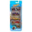 Conjunto de Carros Mattel Hot Wheels Street Beasts - 5 Unidades