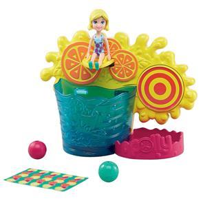 Conjunto Polly Pocket Mattel Brincadeira Surpresa Aquática