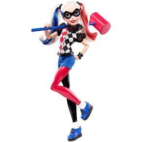 Dc Super Hero Girls - Boneca Harley Quinn Cores da Moda Dlt65
