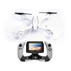 DRONE UDIRC LARK FPV U842 - 1 QUADROTOR 6 EIXOS GIROSCÓPIO CÂMERA HD - BRANCO