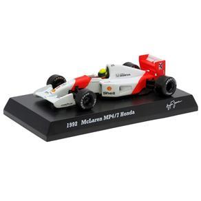 Fórmula 1 McLaren Honda MP4 / 7 1992 Ayrton Senna 1:64 Kyosho