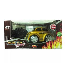 Fusca Dourado Controle Remoto - Zoop Toys ZP00117