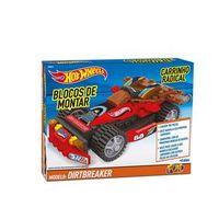 Hot Wheels Blocos Carrinho Radical Dirtbreaker - Fun Divirta - se