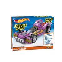 Hot Wheels Blocos Carrinho Radical Howler 128 - Fun Divirta - se