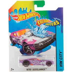Hot Wheels Color Change Carros Nitro - Mattel