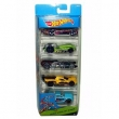 Hot Wheels Pacote Presente Com 05 Carros Spiral Stack - Up - Mattel Hot Wheels Pacote Presente Com 05 Carros Spiral Stack - Up -
