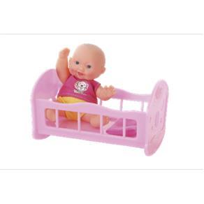 Mami Baby Boneca com Berço - BR655