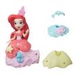 Mini Boneca com Vestidos - Disney Princesas - Little Kingdom - Ariel - Hasbro