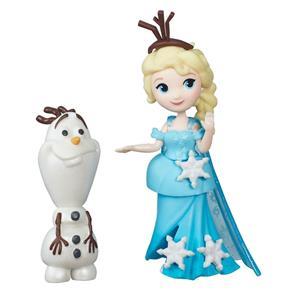 Mini Boneca - Disney Frozen - Elsa e Olaf - Hasbro