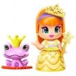 Mini Boneca Pinypon Princesa Multikids Vestido Amarelo com Acessórios