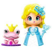 Mini Boneca Pinypon Princesa Multikids Vestido Azul com Acessórios