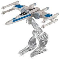 Nave Star Wars Resistance X - Wing Fighter Hot Wheels