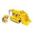 Patrulha Canina - Veículo Com Figura Rubble`S Digginn` Bulldozer Sunny 1302