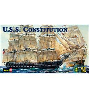 Plastimodelismo Revell Navio De Guerra U.S.S Constitution 1 / 96