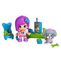 Playset Multikids Pinypon Mini Pet Shop Boneca com Cachorrinho BR548